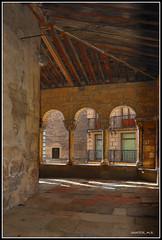 Arcos de la Iglesia de San Martin en Segovia (Románico)