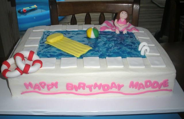 Swimming Pool Cake Flickr Photo Sharing