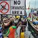No Swiming, Fishing Port- West Africa Ghana