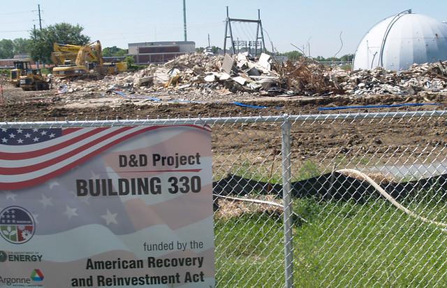 Historic Chicago Pile-5 Reactor demolished