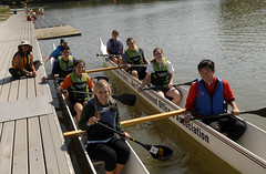 vehicle, sports, recreation, outdoor recreation, boating, water sport, crew, watercraft, boat, paddle, team,