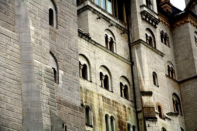 Neuschwanstein wall