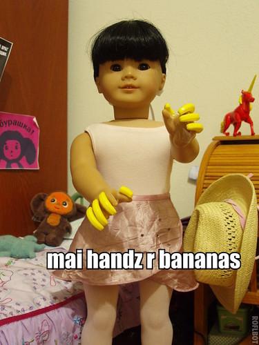 Mai Handz r Bananas!