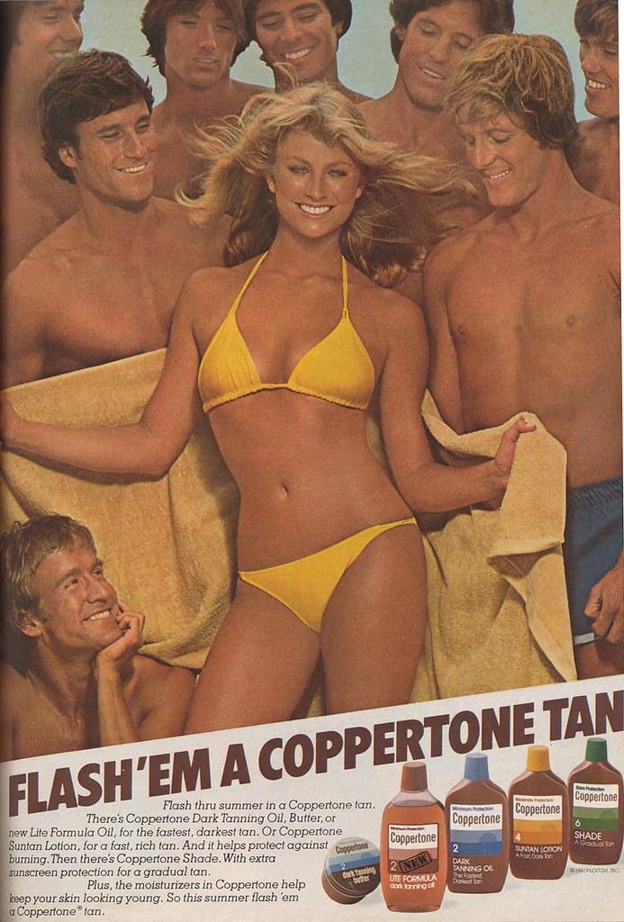 Flash 'em a Coppertone Tan