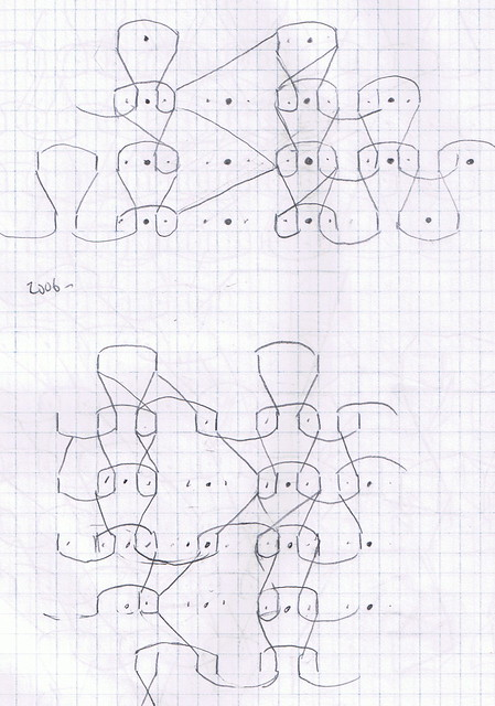 Drawing Knitting Schematics : Knitting lace diagram flickr photo sharing