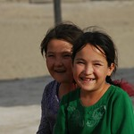 Laughing Sisters - Jerbent, Turkmenistan