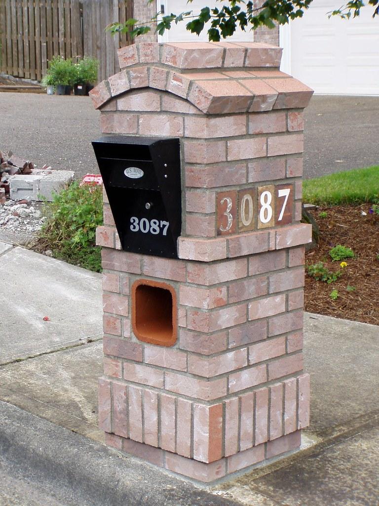 10 Brick Mailbox Baker Masonry Llc 503 539 6792 A