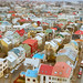 reykjavik rooftops from hallgrimskirkja church tower by jeanine.stewart