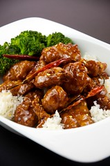 meal, curry, orange chicken, sweet and sour, general tso's chicken, food, dish, cuisine, teriyaki,