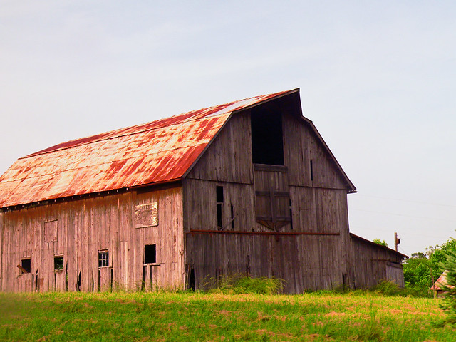 Old Red Barn Flickr Photo Sharing