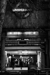 Embankment Tube Station