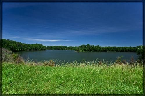 lake pond wideangle prairie hdr caesarcreek