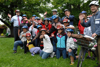 Mayor Adams at Safe Routes to School ride-4