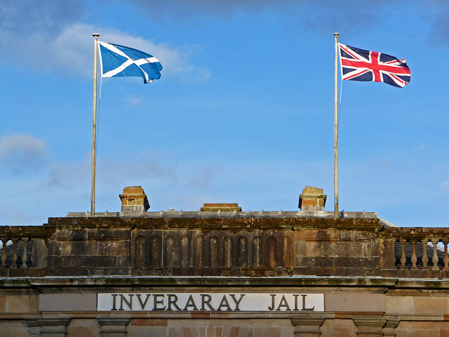 Inveraray Jail, Argyll, Scotland