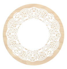 dishware(0.0), platter(0.0), plate(0.0), tableware(0.0), ceiling(0.0), toilet seat(0.0), lighting(0.0), pattern(1.0), doily(1.0), design(1.0), circle(1.0),