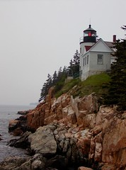 Stormy Bass Harbor Head