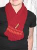 """Garnish"" Mini scarf by kiddoknits"