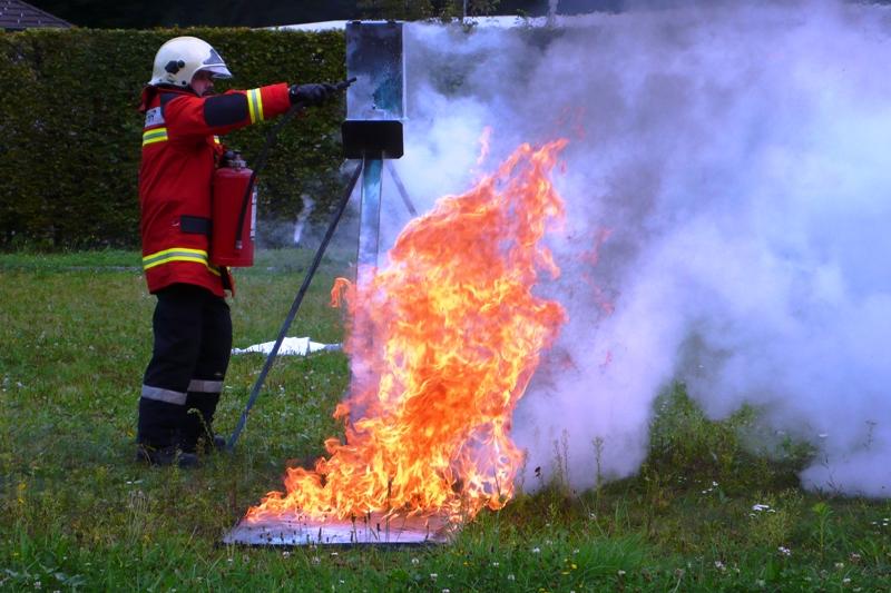 Firefighter Exercise Feldbrunnen-Riedholz