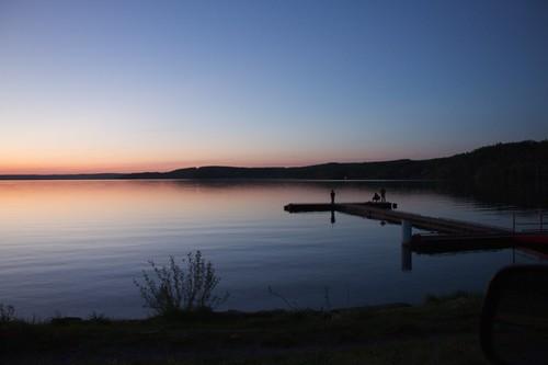 sunset charlielake peoplefishing 18270mm ade5card