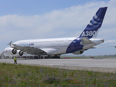 A380 tail