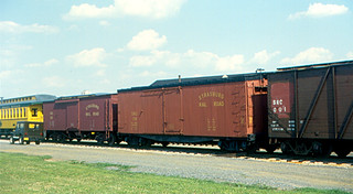 Strasburg Rail Road - Freight Cars