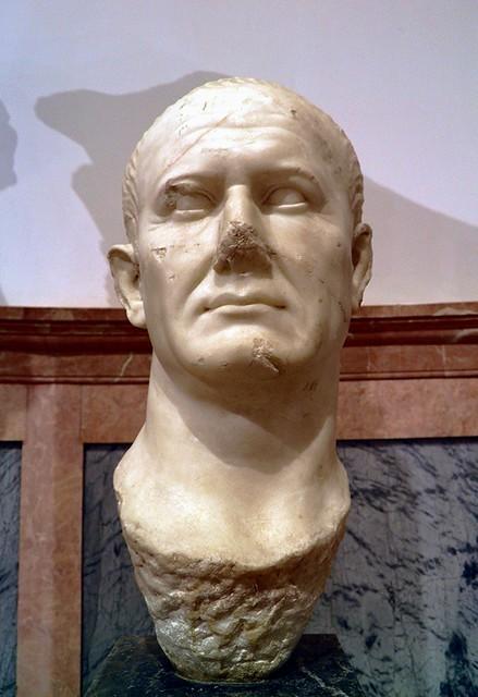Bust of Vespasian, Archaeological Museum, Seville