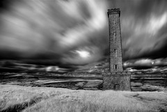 Peel Tower, Infrared