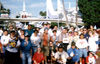 Rec.Arts.Disney, before the split, gathering in Plaza at Disneyland, July 17, 1995, Disneyland's 40th Anniversary