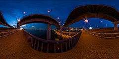 The Arakawa-bridge bridge