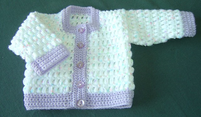 Crochet Pattern Central Baby Cardigans : CROCHET BABY CARDIGAN PATTERNS Free Patterns