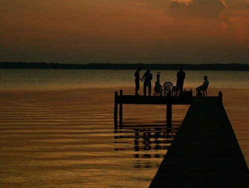 sunset water golden dock florida silhouettes stjohnsriver colorphotoaward aplusphoto ultimateshot diamondclassphotographer flickrdiamond