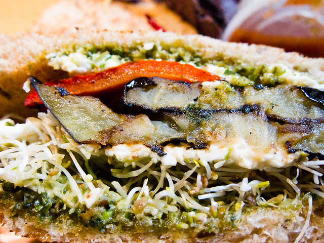 Grilled Eggplant Sandwich | Flickr - Photo Sharing!