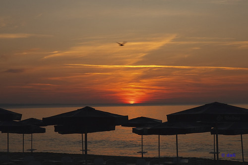 beach sunrise bulgaria blacksea 海滩 goldensands goldstrand schwarzmeer 金沙滩 保加利亚 黑海