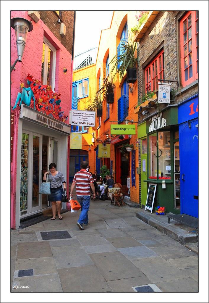 Camden Town: Neal's Yard, Camden Town, London