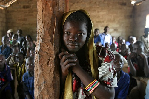 School children in the Central African Republic