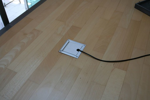 Power outlet in the floor flickr photo sharing for Hardwood flooring outlet