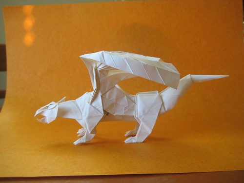 complex origami dragon | Origami Dragon - photo#20