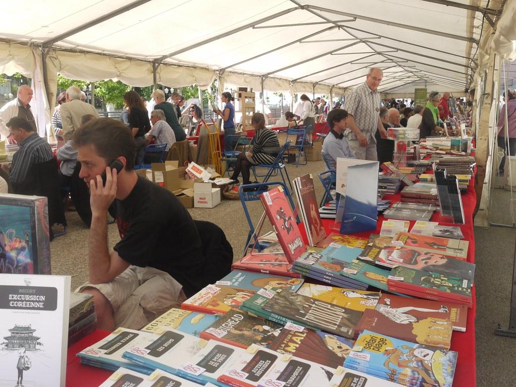 related image - Comédie du Livre 2010 - Vue d'ensemble - P1380832
