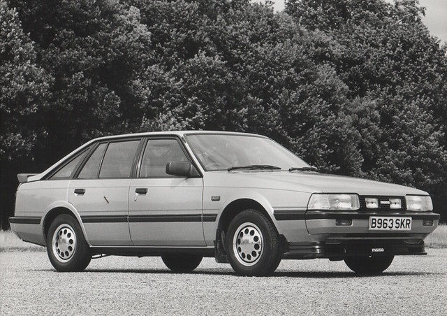 1984 Mazda 626 2.0 Hatchback (with accessories) | Flickr - Photo ...