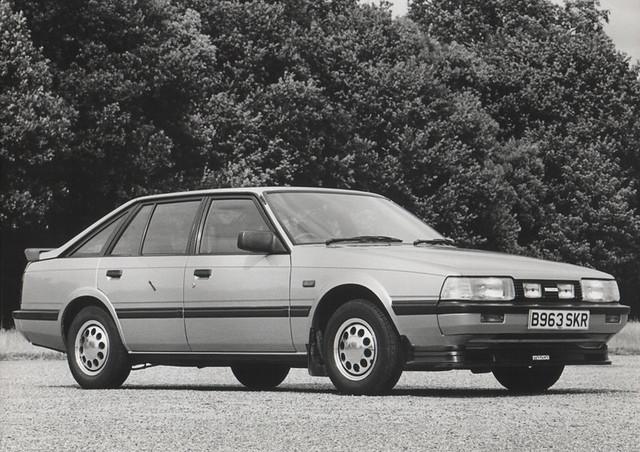 1984 Mazda 626 2.0 Hatchback (with accessories) | Flickr - Photo ...