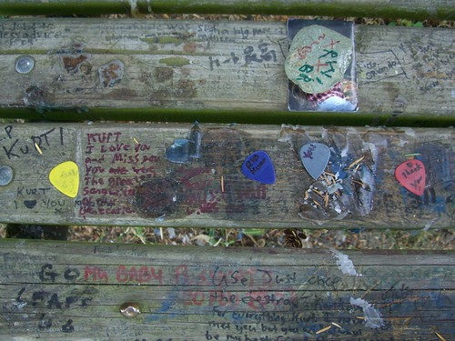 Kurt Cobain's Memorial Park Bench