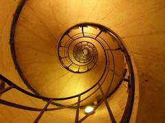 stair-case in Arc de Triomphe