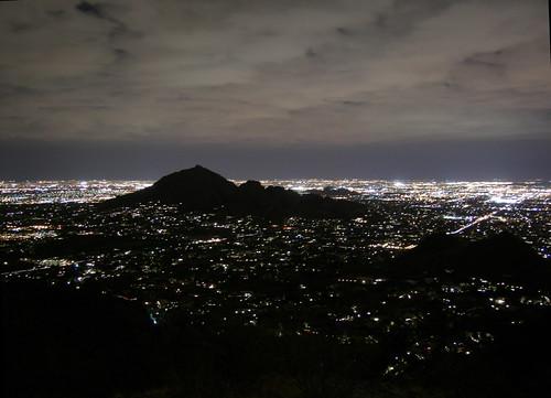 arizona sky phoenix skyline night clouds 1025fav lights cloudy hiking hike explore citylights soe camelbackmountain camelback paradisevalley peak2429 azwexplore anawesomeshot azhike alhikesaz intphoenix