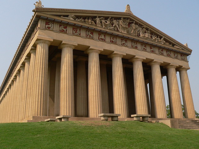 Parthenon by CC user 28992197@N00 on Flickr