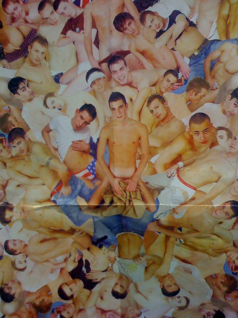 Gay porn wrapping paper