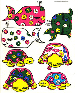 Logix Deco Stickers - Whales & Turtles - 1971
