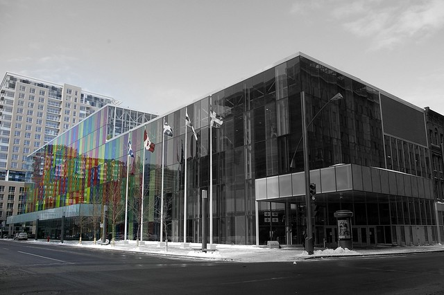 Montréal, bibliothèque