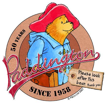 Paddington 2 >> Paddington Bear logo 50 yrs | Flickr - Photo Sharing!