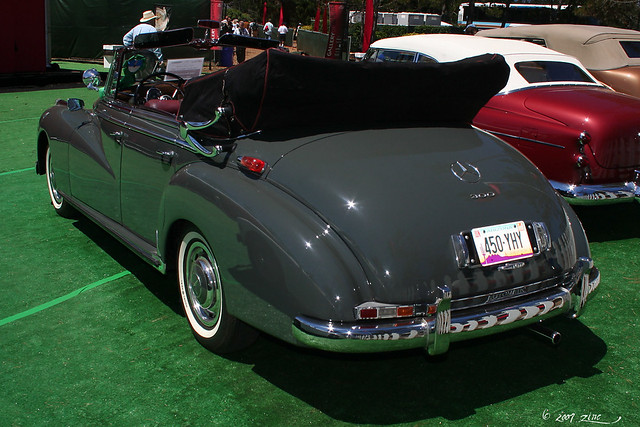 1956 mercedes benz 300c 4 door cabriolet rvl flickr for Mercedes benz 300c