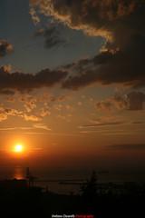Sunset on Ancona